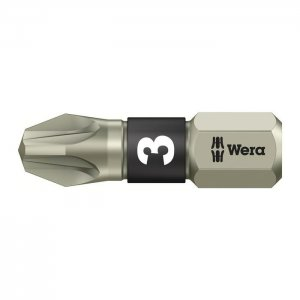 Бита из нержавеющей стали PZ3х25 мм WERA 05071022001