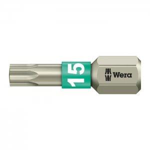 Бита из нержавеющей стали TX15х25 мм WERA 05071033001