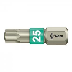 Бита из нержавеющей стали TX25х25 мм WERA 05071035001
