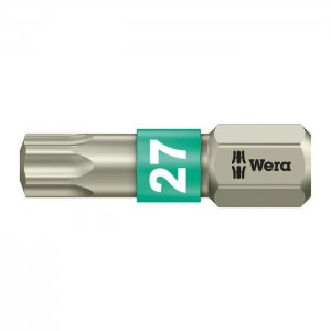Бита из нержавеющей стали TX27х25 мм WERA 05071036001