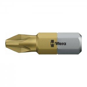 Бита TiN с покрытием нитридом титана PZ2х25 мм WERA 05480222001