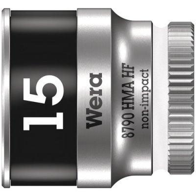 Торцовая головка Zyklop 1/4″ с фиксирующей функцией 15,0х23 мм WERA 05003010001