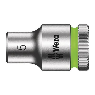 Торцовая головка Zyklop 1/4″ 5,0х23 мм WERA 05003503001