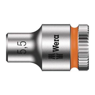 Торцовая головка Zyklop 1/4″ 5,5х23 мм WERA 05003504001