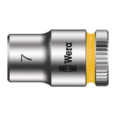 Торцовая головка Zyklop 1/4″ 7,0х23 мм WERA 05003506001