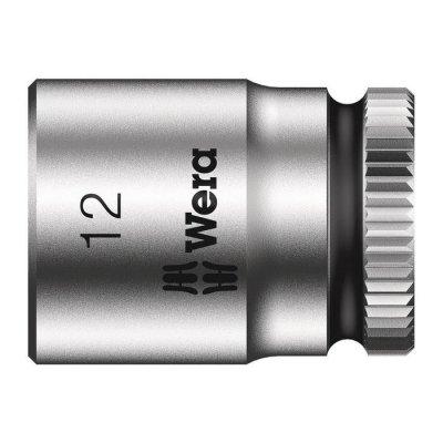 Торцовая головка Zyklop 1/4″ 12,0х23 мм WERA 05003511001