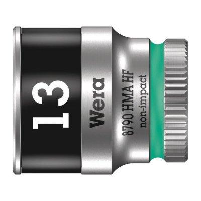 Торцовая головка Zyklop 1/4″ с фиксирующей функцией 13,0х23 мм WERA 05003728001
