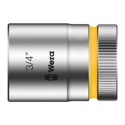 Торцовая головка Zyklop 1/2″ дюймовая 3/4″х37 мм WERA 05003625001