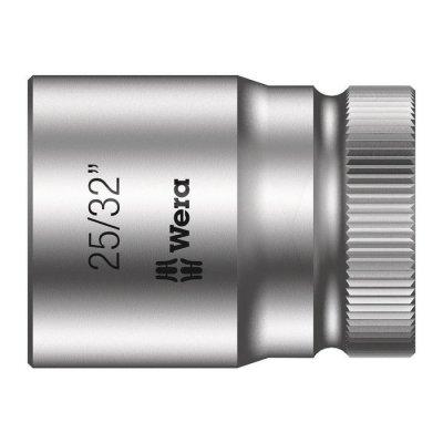 Торцовая головка Zyklop 1/2″ дюймовая 25/32″х37 мм WERA 05003626001