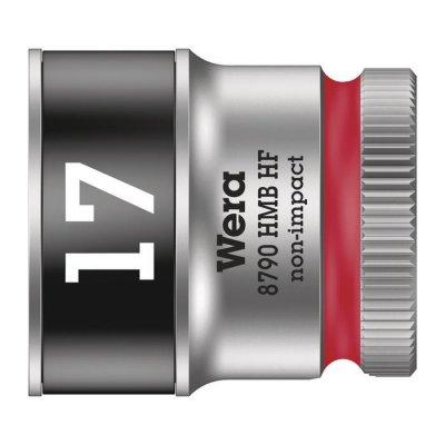 Торцовая головка Zyklop 3/8″ с фиксирующей функцией 17,0х29 мм WERA 05003751001