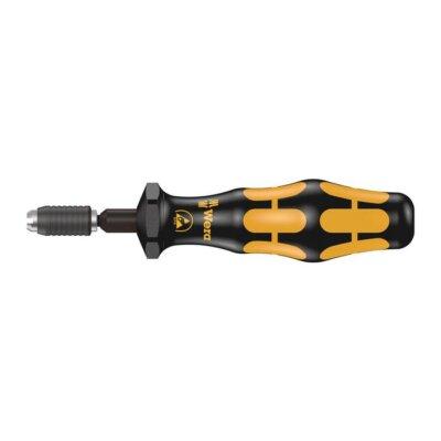 Динамометрическая отвёртка с моментом затяжки 0,1 Нм, с быстрозажимным патроном Rapidaptor, Kraftform 7455 ESD WERA 05074826001